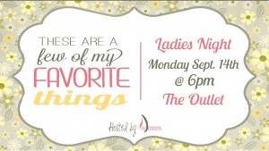 Womens Ministry Favorite Things September 2015