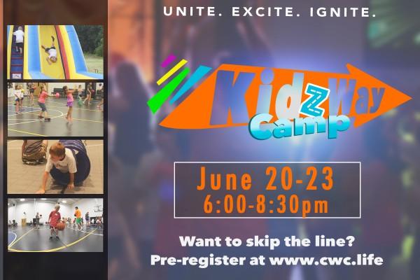 KidzWay Camp Invite