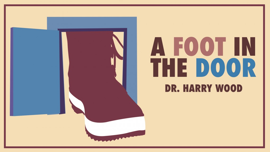 A Foot in the Door Title Dr Wood