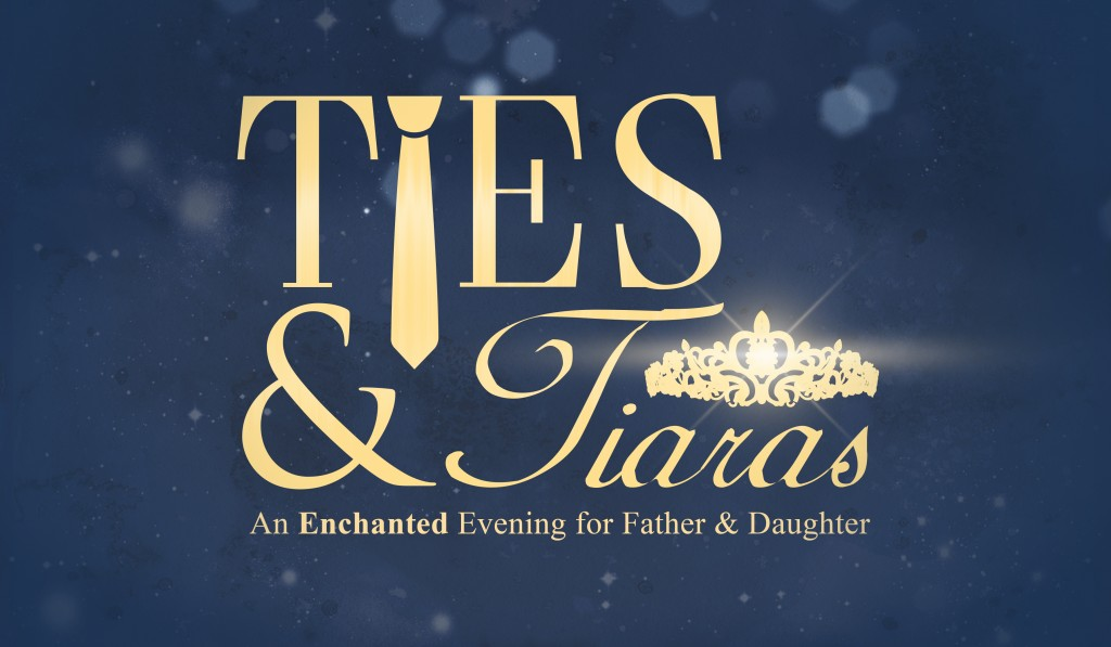 Ties and Tiaras Logo