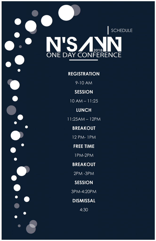 NSAYN Schedule