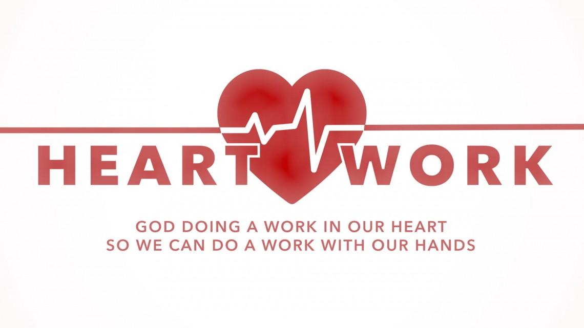 Heart work Logo