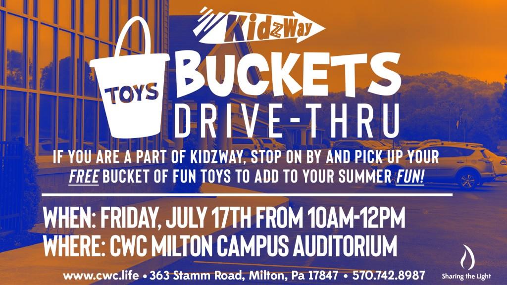KidzWay Buckets Drive-Through 2020