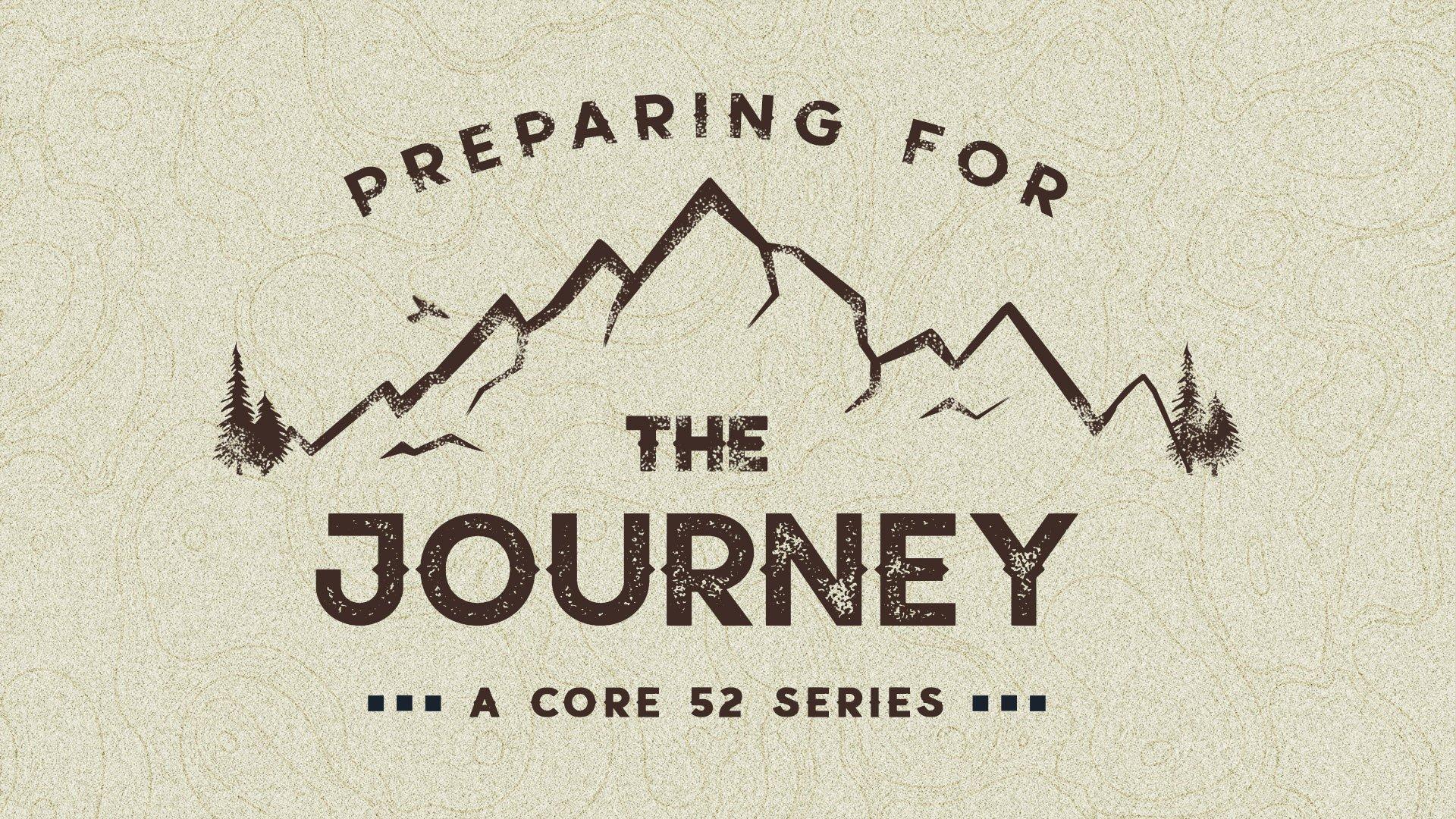 preparing for the journey logo